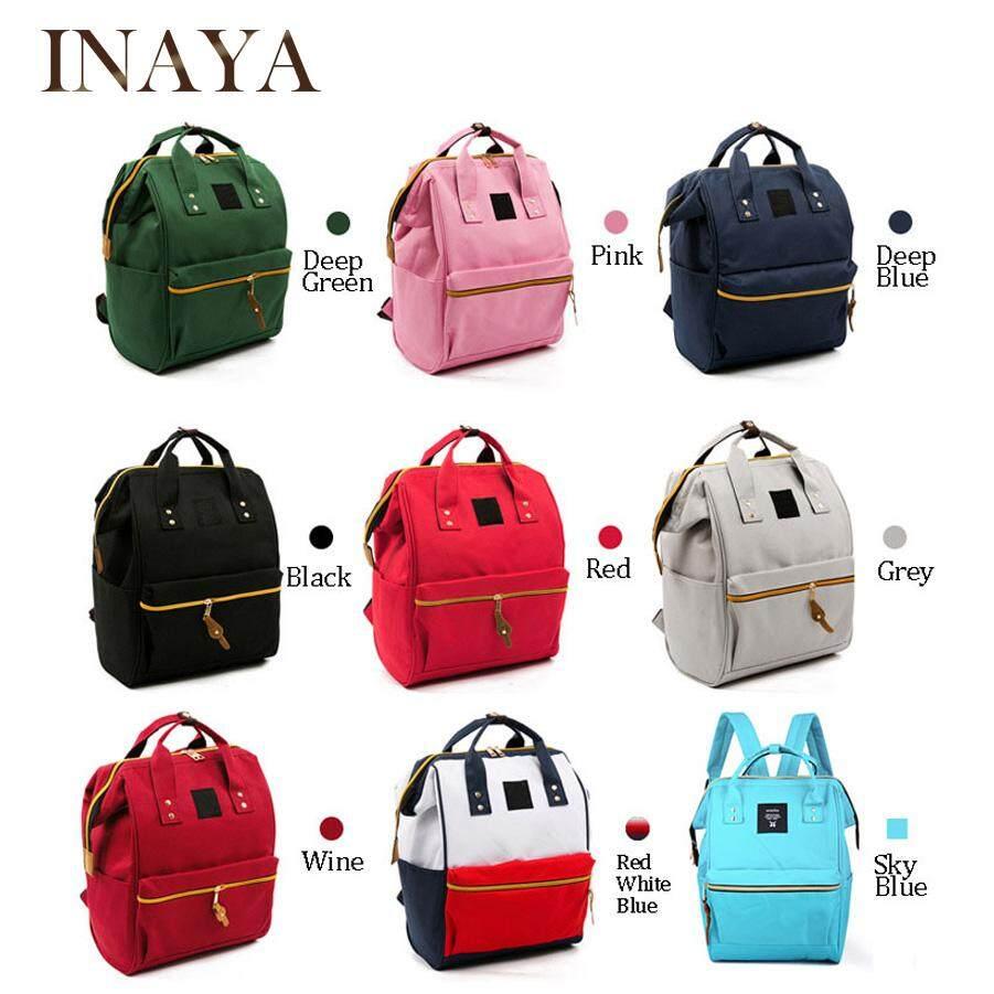 INAYA Women Bag Backpack Shoulder Bag Travel Schoolbag