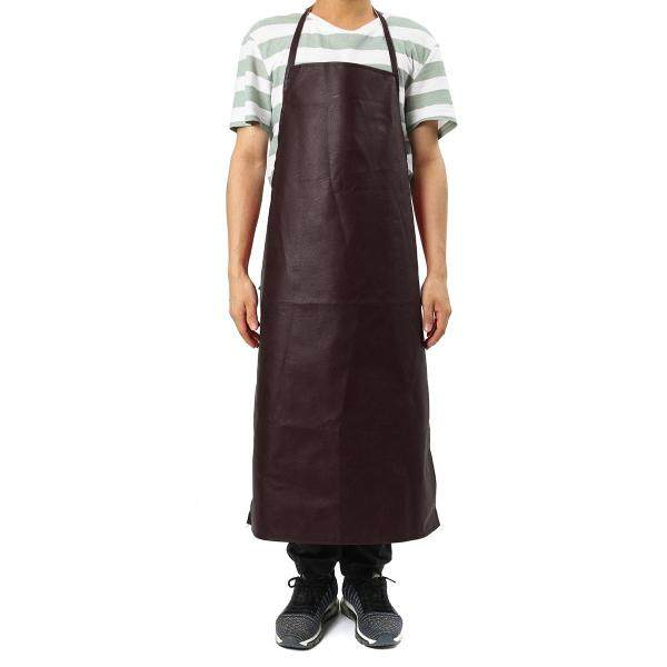 PU Leather Welding Apron Equipment Heat Insulation Protection Welders Kitchen Utility Work Safety