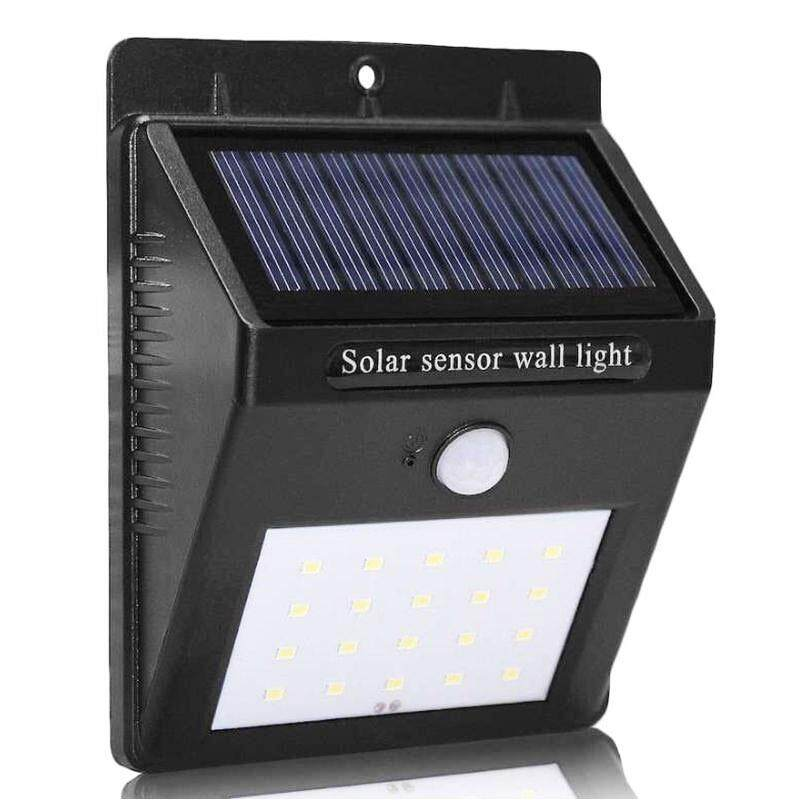 Smart Sensor And Solar Power 20 Led Wall Light Pir Motion Outdoor Security Lamp Waterproof