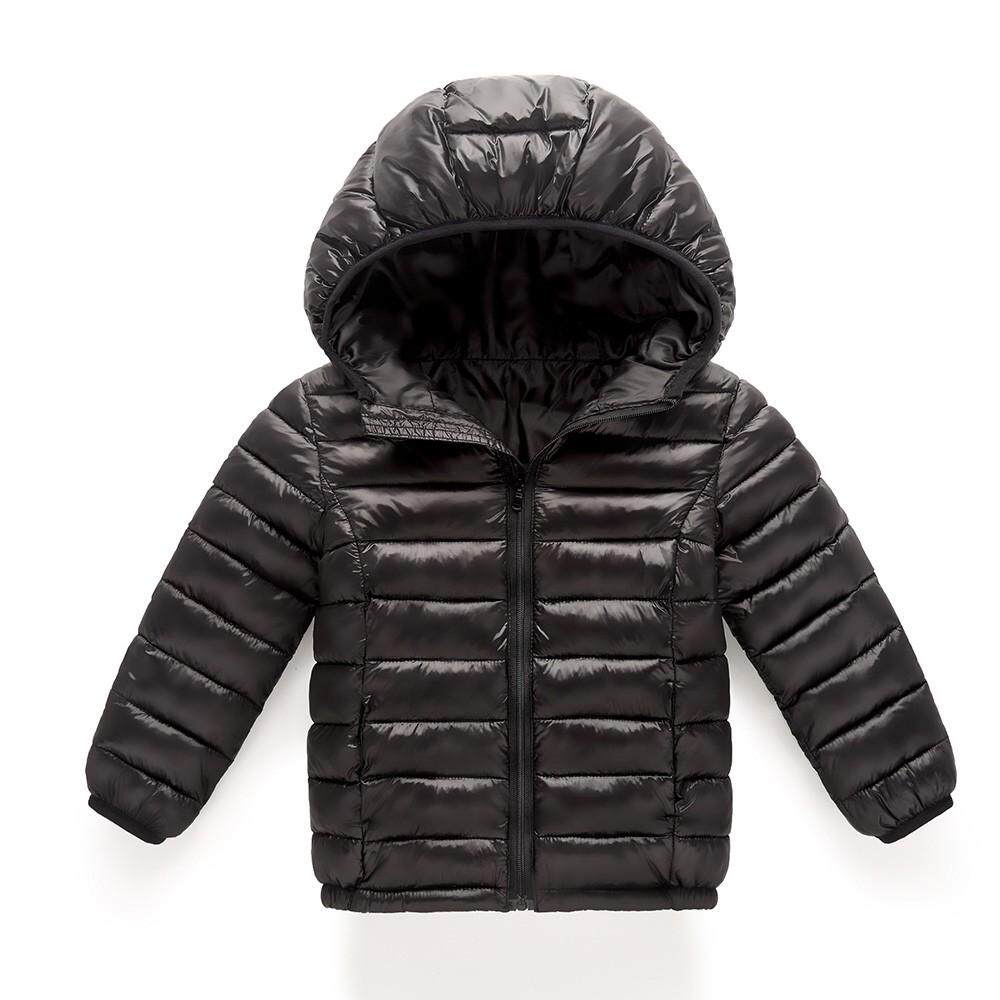 Tideshop Baby Girl Boy Kids Cotton Jacket Coat Hooded Autumn Winter Warm Children Clothes By Tideshop.