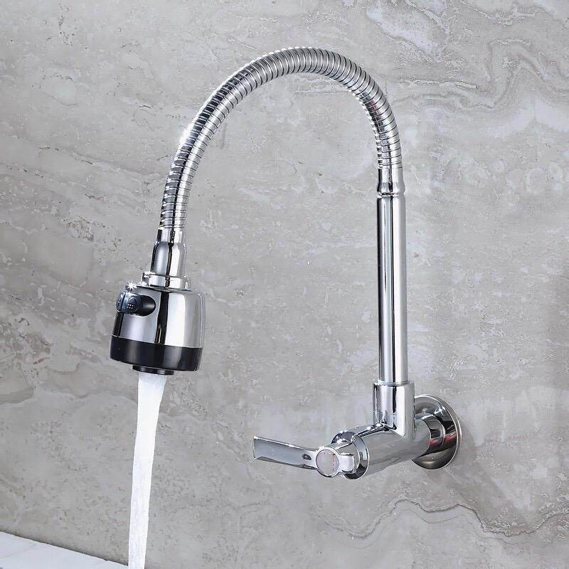 Kitchen Faucet Flexible Wall Sink Tap