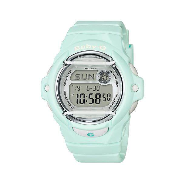 Casio Baby-G Special Color Models BG-169R-3 Womens Watch (Pastel green) Malaysia
