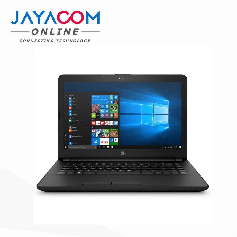 HEWLETT-PACKARD 14-BS507TX NOTEBOOK,INTEL CI3-7020U,4GB,1TB,2GB VRAM,14.0,W10,BLACK,WITH BAG Malaysia