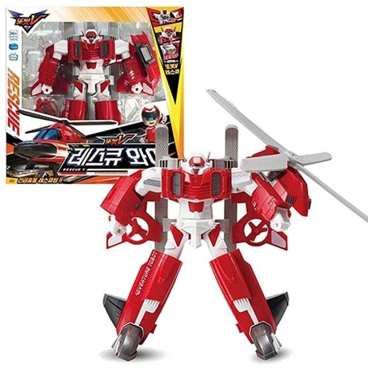 2018 New Product Tobot V RESCUE Y/ Young Toys/ Transformer Car/ Robot/  Childrens toys