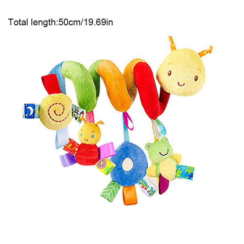 Oem Spiral Activity Infant Hanging Toys, Baby Activity Spiral Wrap Around Crib Bed, Spiral Plush Toys Stroller And Travel Activity Toy. By Withritty.