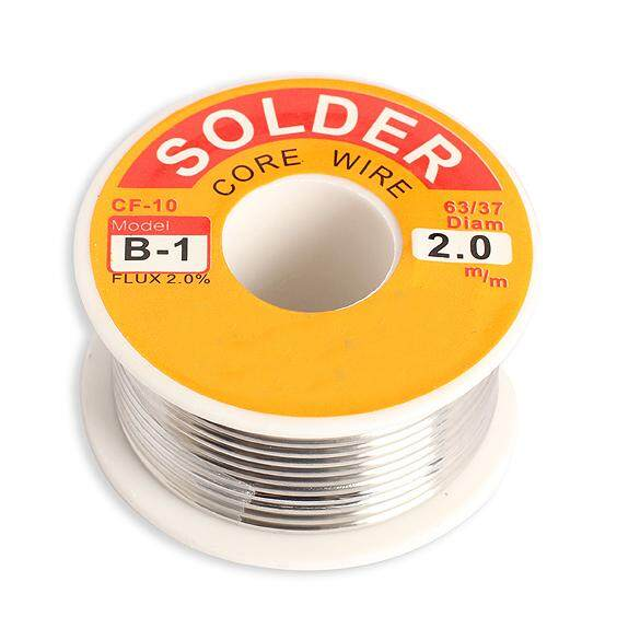 YBC 2mm Tin Lead Melt Rosin Core Solder Wire Roll for Electrical Solderding