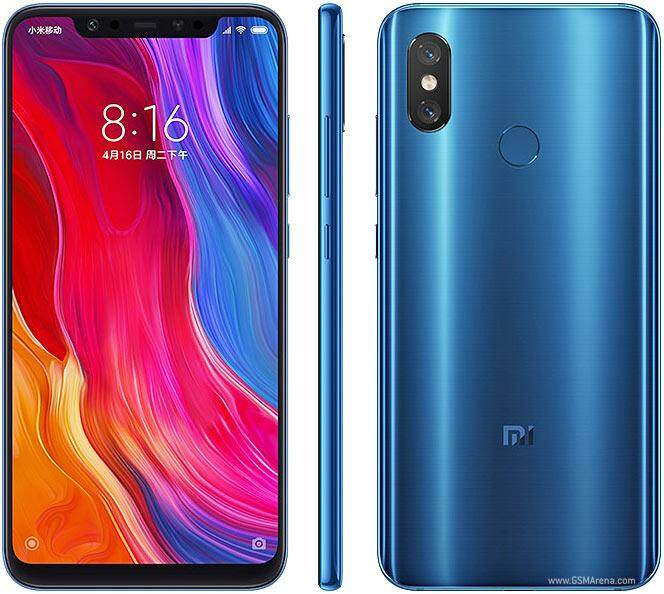 Xiaomi Mi 8, 64GB/128GB  Imported Set With 1 Year Warranty
