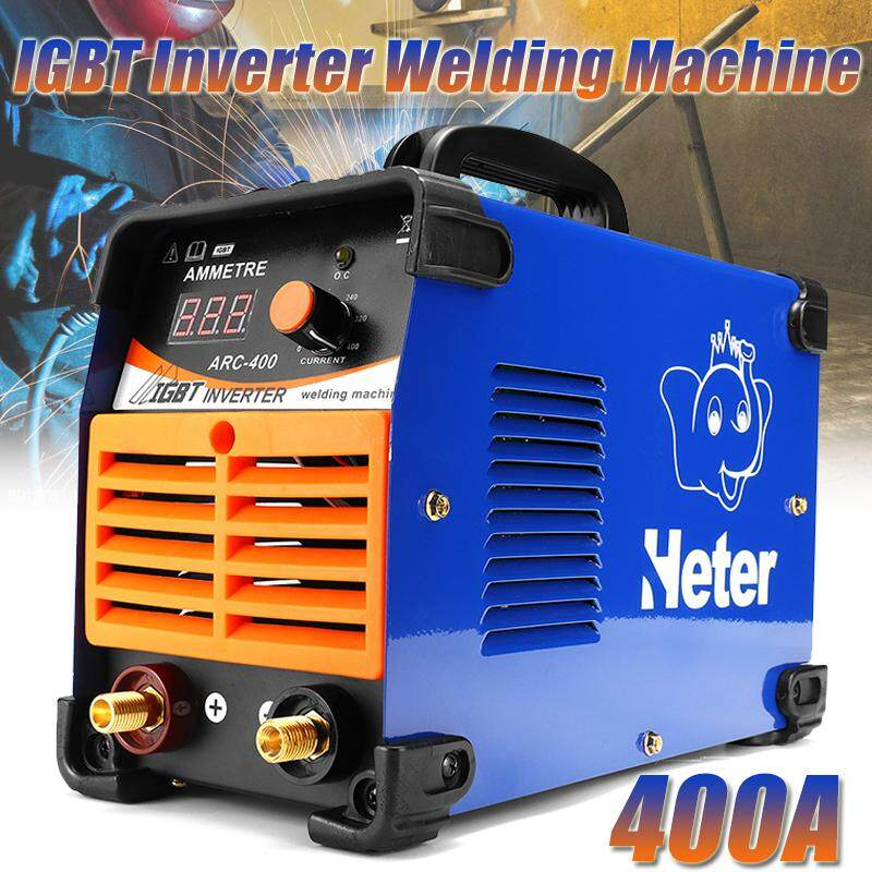 【Free Shipping + Flash Deal 】ARC-400 Digital Welding Inverter Machine IGBT 400A 220V Portable Welder EU Plug