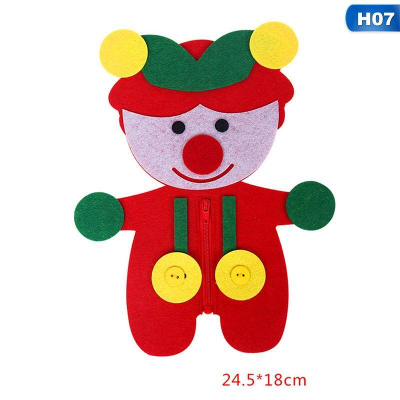 Home Teaching Kindergarten Manual Diy Weave Cloth Baby Early Learning Education Toys Montessori Teaching Aid Toys