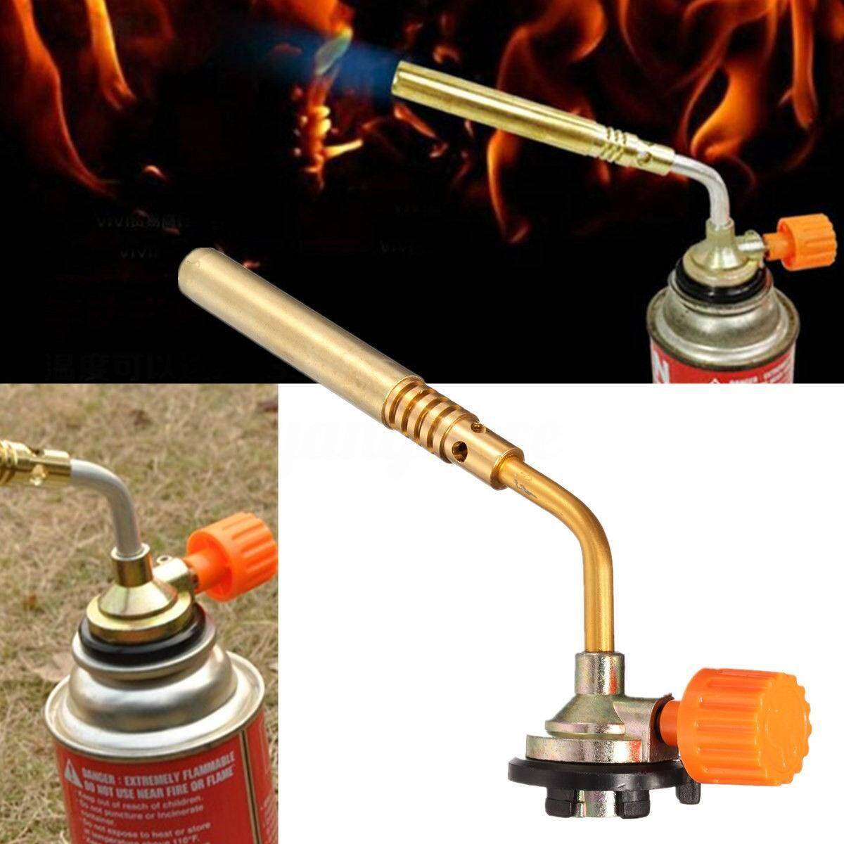 Outdoor Portable Ignition Butane Torch Welding BBQ Burner