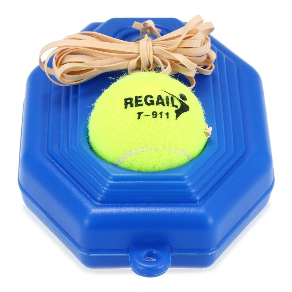 Tennis Trainer Practice Training Tool Baseboard Exercise Rebound Ball With String By Tomtop.