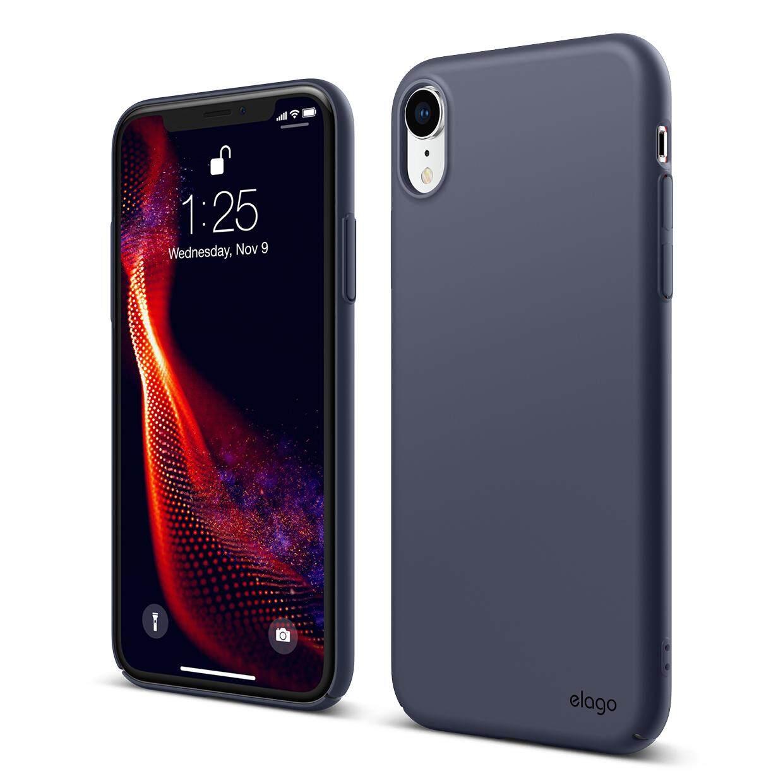 pretty nice 57c81 50ff8 Elago Slim Fit Case for iPhone XR Premium Quality Phone Case Phone Casing  Cover Transparent Blue Black Pink