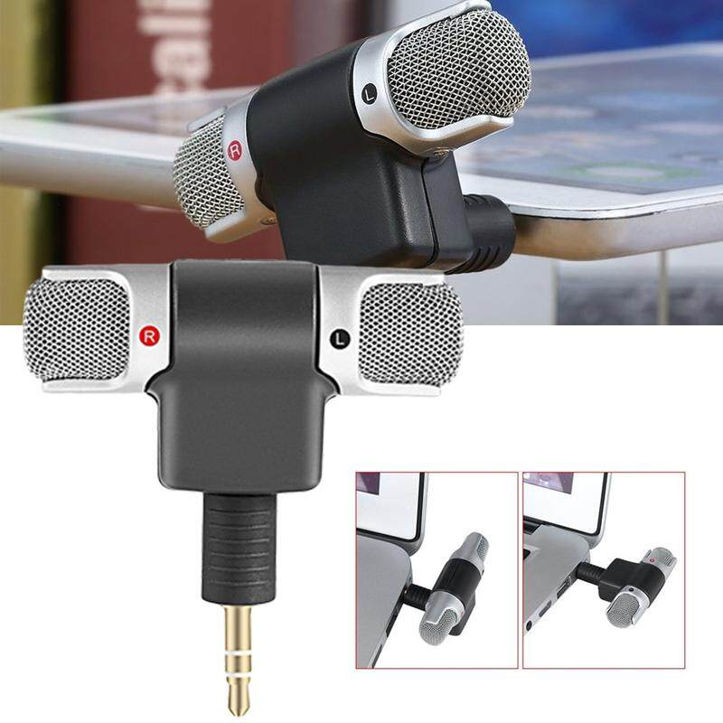 OSMAN Mini Digital Stereo Microphone Mic 3.5mm Mini Jack PC Laptop Notebook Malaysia