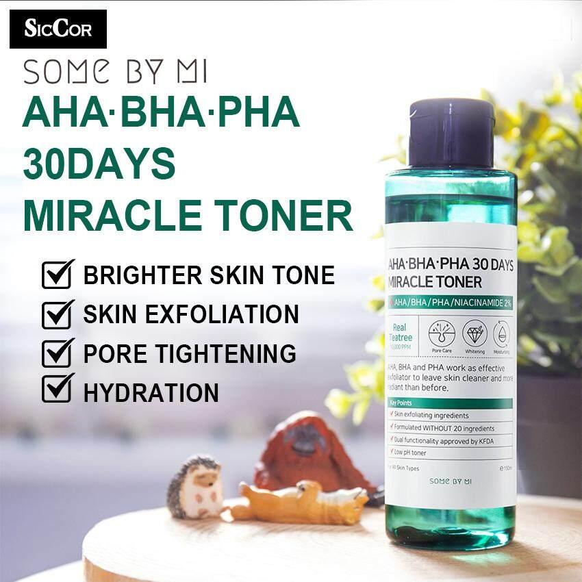Some By Mi [Ready Stock] Miracle Toner Aha.Bha.Pha 30Days 150ml Anti-acne