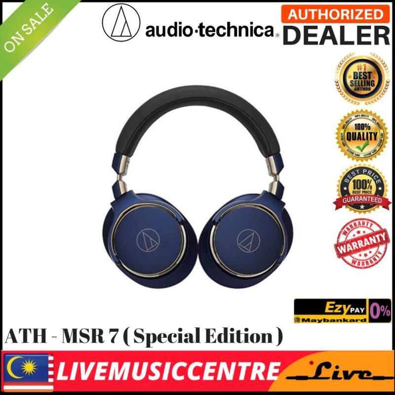 Audio Technica ATH-MSR7 SonicPro High-Resolution Audio Headphones ATH MSR7 (1Year Audio-Technica Malaysia Warranty) Malaysia