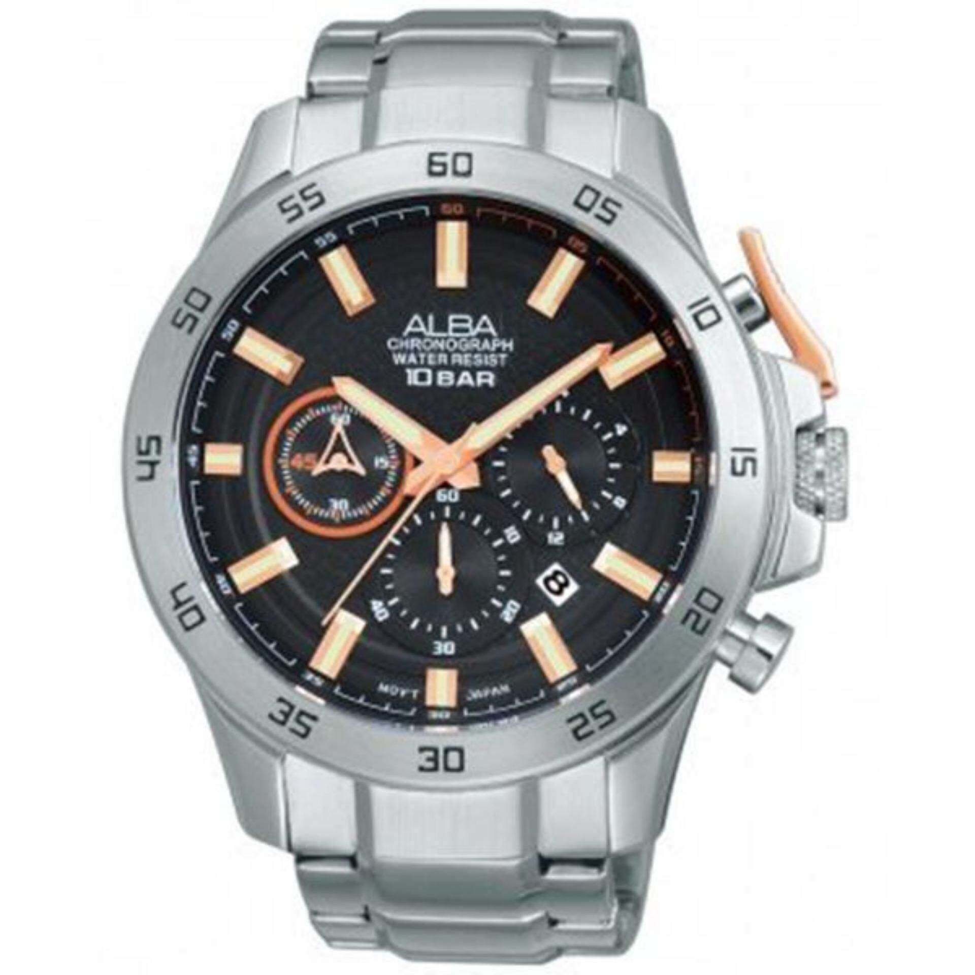 Alba Men Casual Watches Price In Malaysia Best Watch Elegant Chronograph At3657x1 Original1 Year Warranty