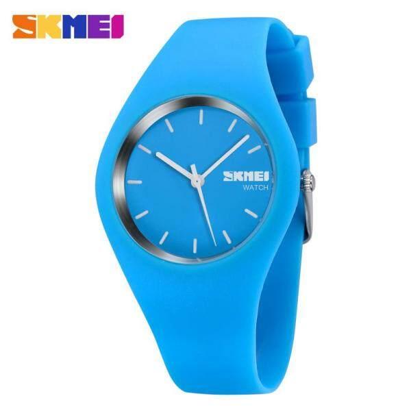 SKMEI Women Fashion Watch Casual Quartz Watches Silicone Waterproof Sport Wristwatches 68 Malaysia