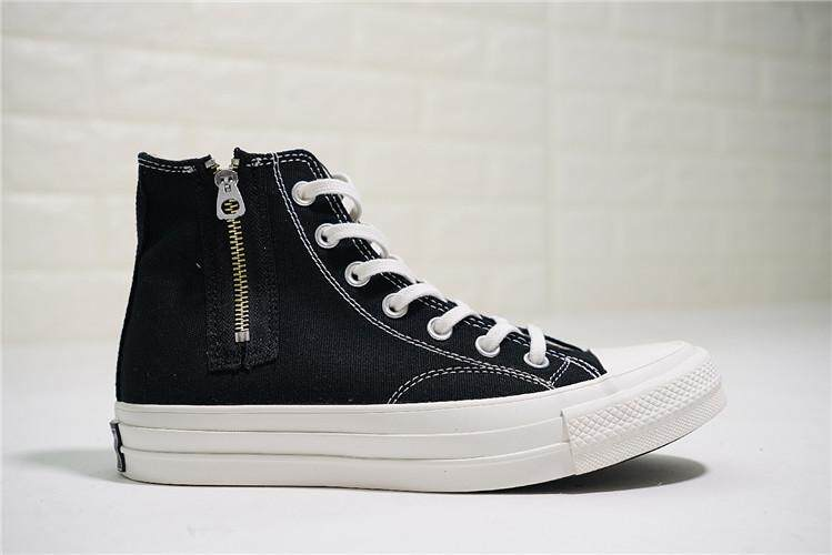 Converse Official WOMEN Skateboarding Shoes x Addict Chuck Taylor All Star  Zip High Top Global Sales 85a1945326