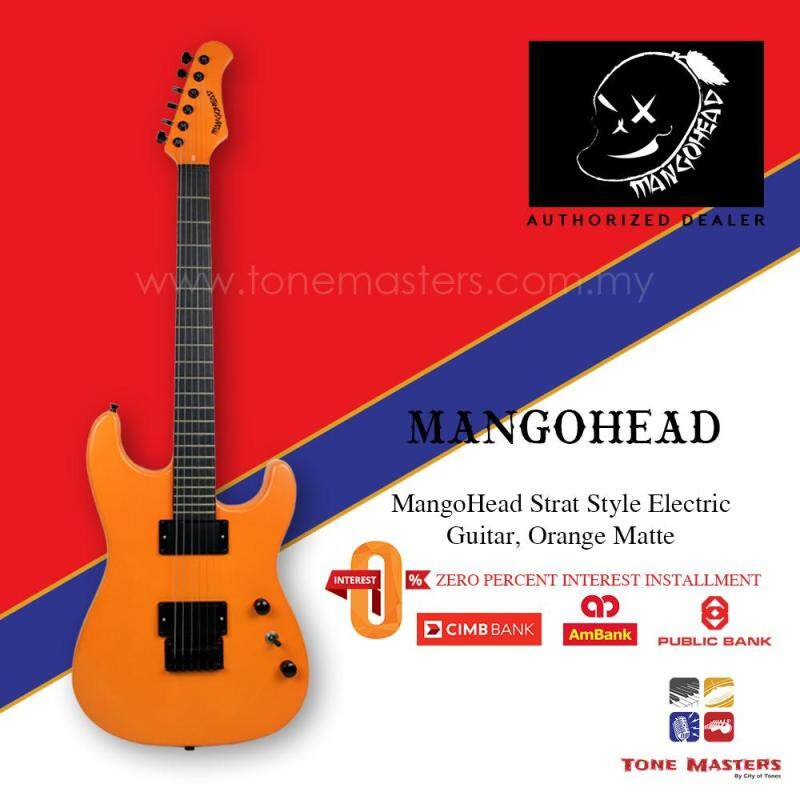MangoHead Strat Style Electric Guitar, Non Malaysia