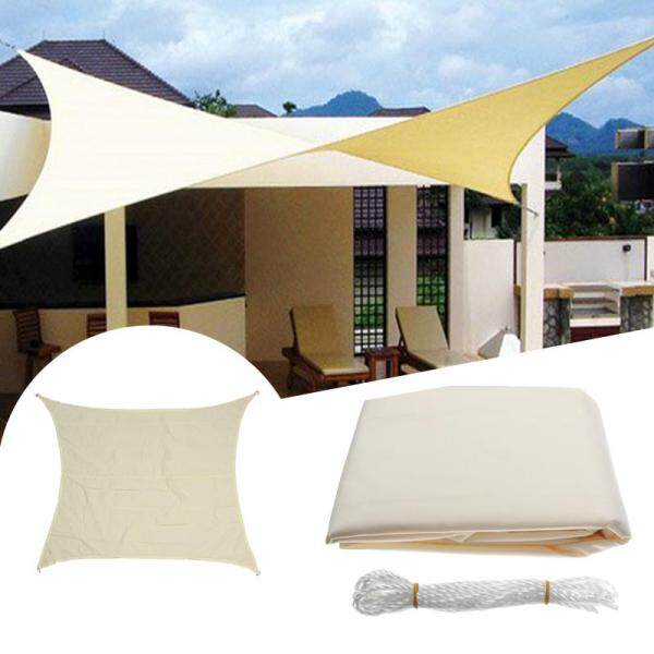 8FT Sun Shade Square Waterproof Canopy Patio Awning Garden UV Shelter Outdoor