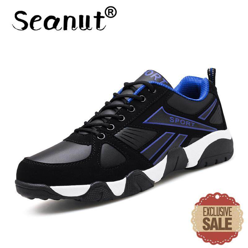Seanut Men s Basketball Shoes On Court Wearable Cushioning Sneakers Sport  Shoes Training Basketball Ankle Boots for bbe0dee6ca