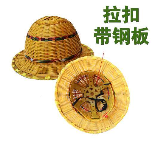 Construction work site construction bamboo helmet