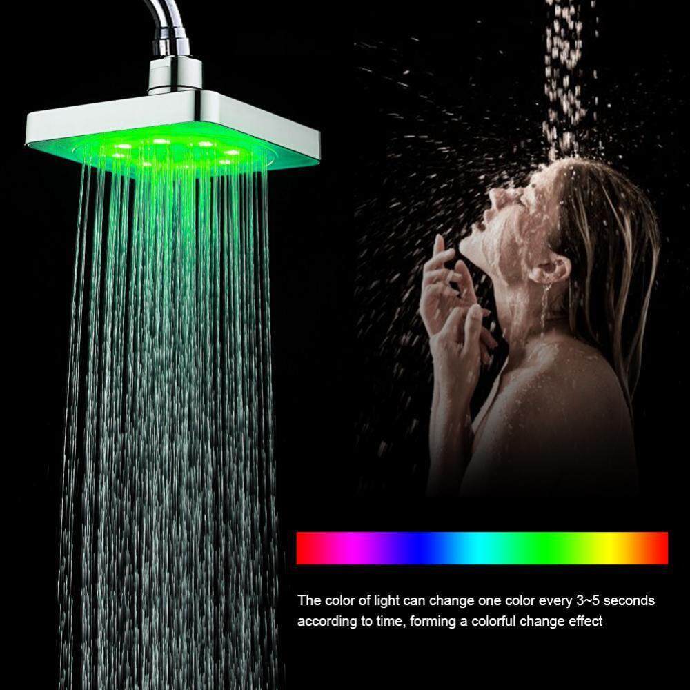 7 Colors LED Romantic Light Water Bath Home Bathroom Shower Head