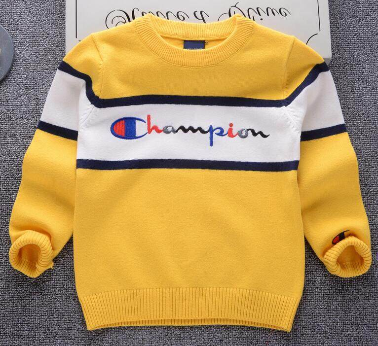 1ca6818af35 LanBaoShi style 2018 Boys Girls Sweaters Baby stripe Pullover Knit Kids  Clothes Autumn New Kids Sweaters Boy Girl Clothing School
