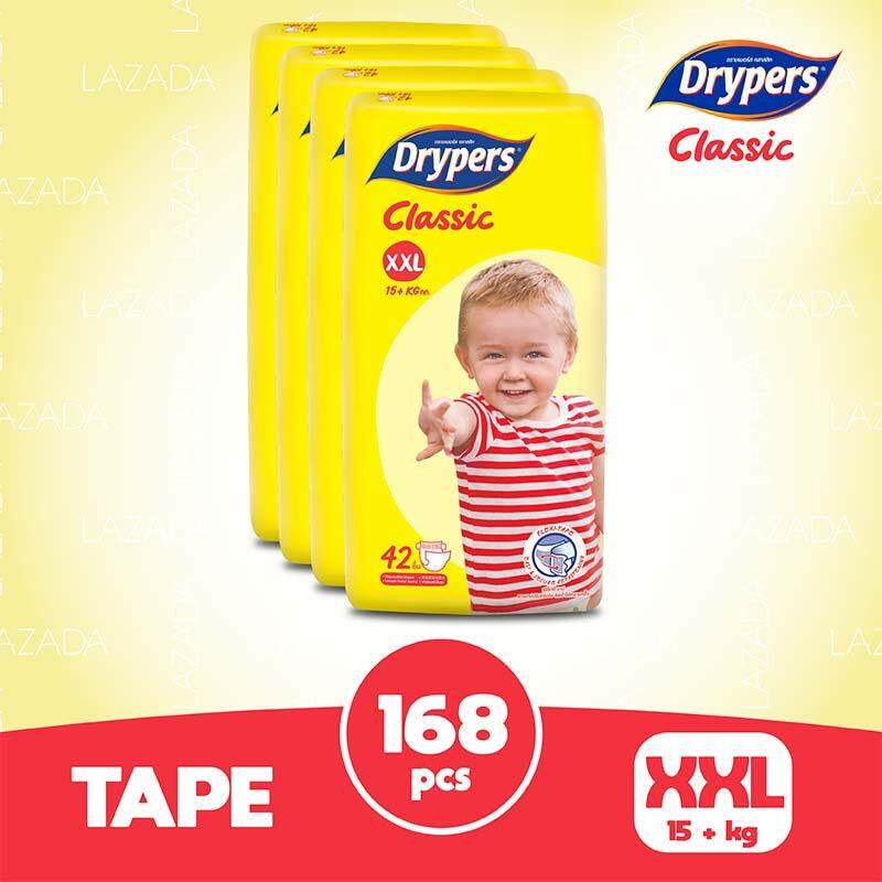 Drypers Classic Open XXL (4x42s)