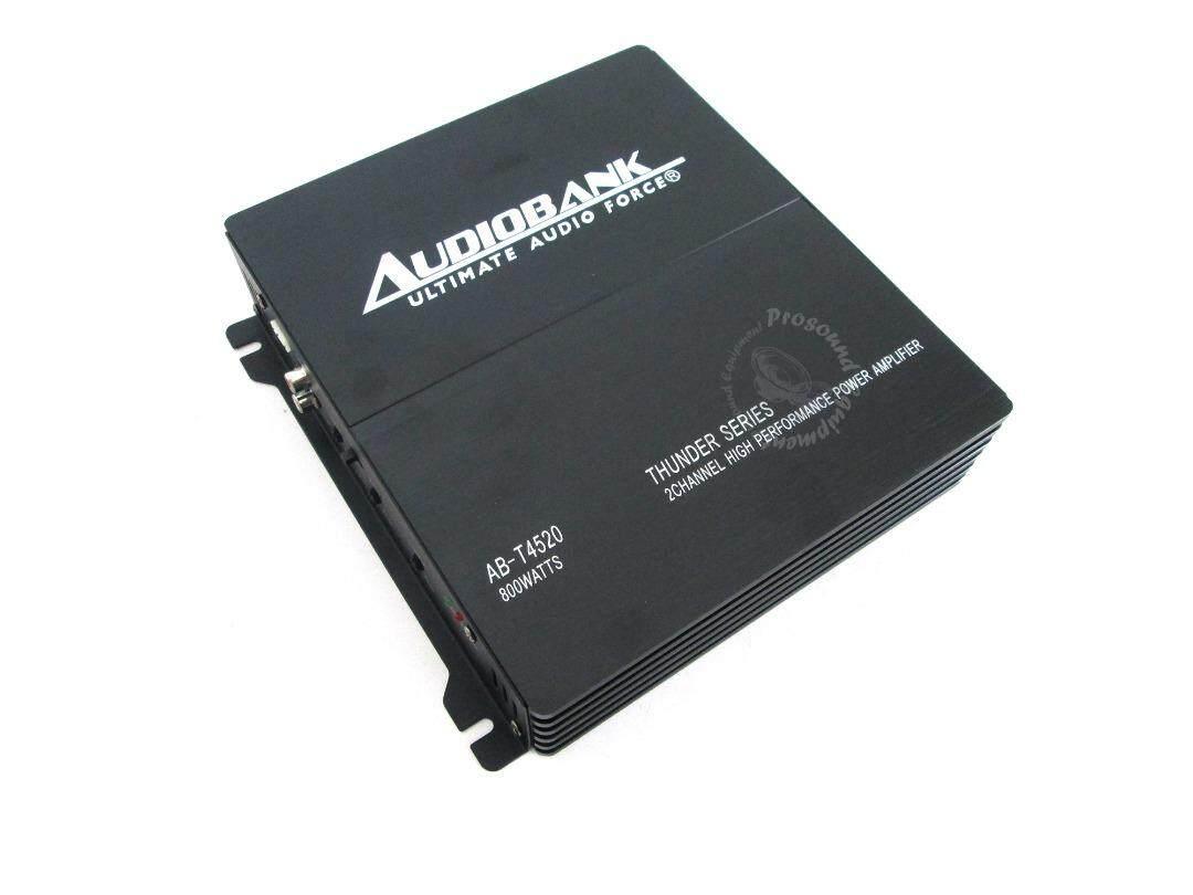 AUDIOBANK (AB-T4520) THUNDER SERIES HIGH PERFORMANCE POWER AMPLIFIER