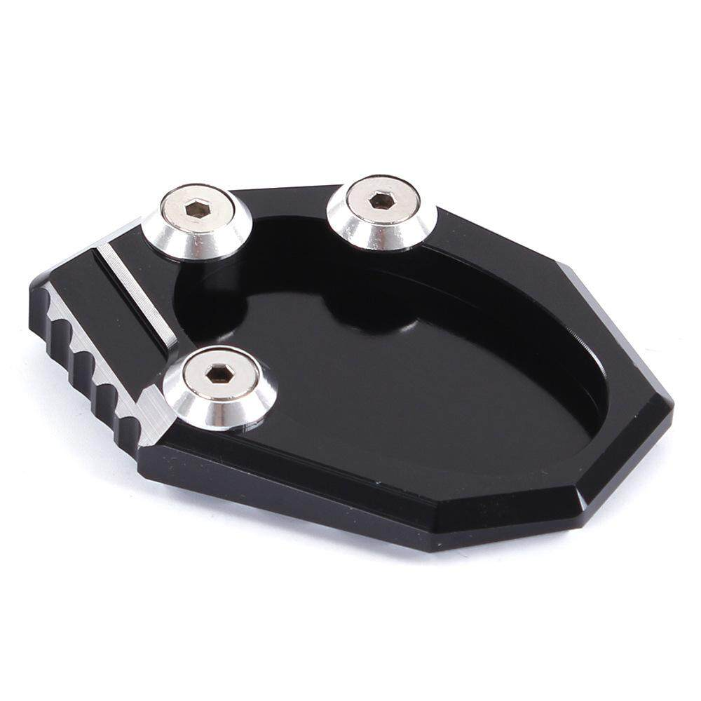 Motorbike Kickstand Foot Side Stand Extension Pad Support Plate For Kawasaki Klx250s Versys650 Z900 Black By Dili Mall.