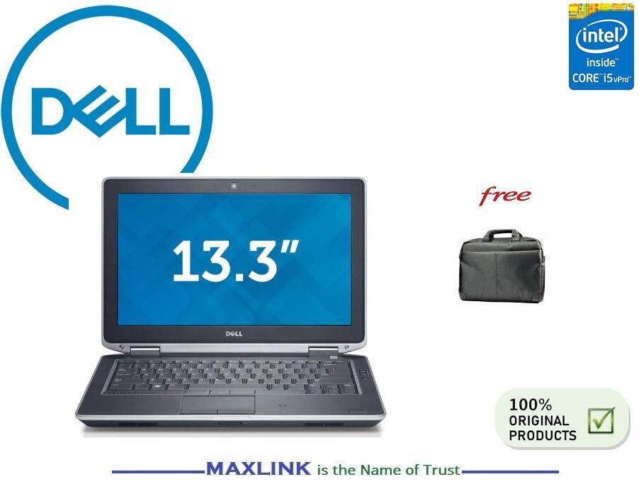 Dell Latitude E6330 Intel i5 4GB RAM 320GB HDD Windows 7 Professional Grade A (Refurbished) Malaysia