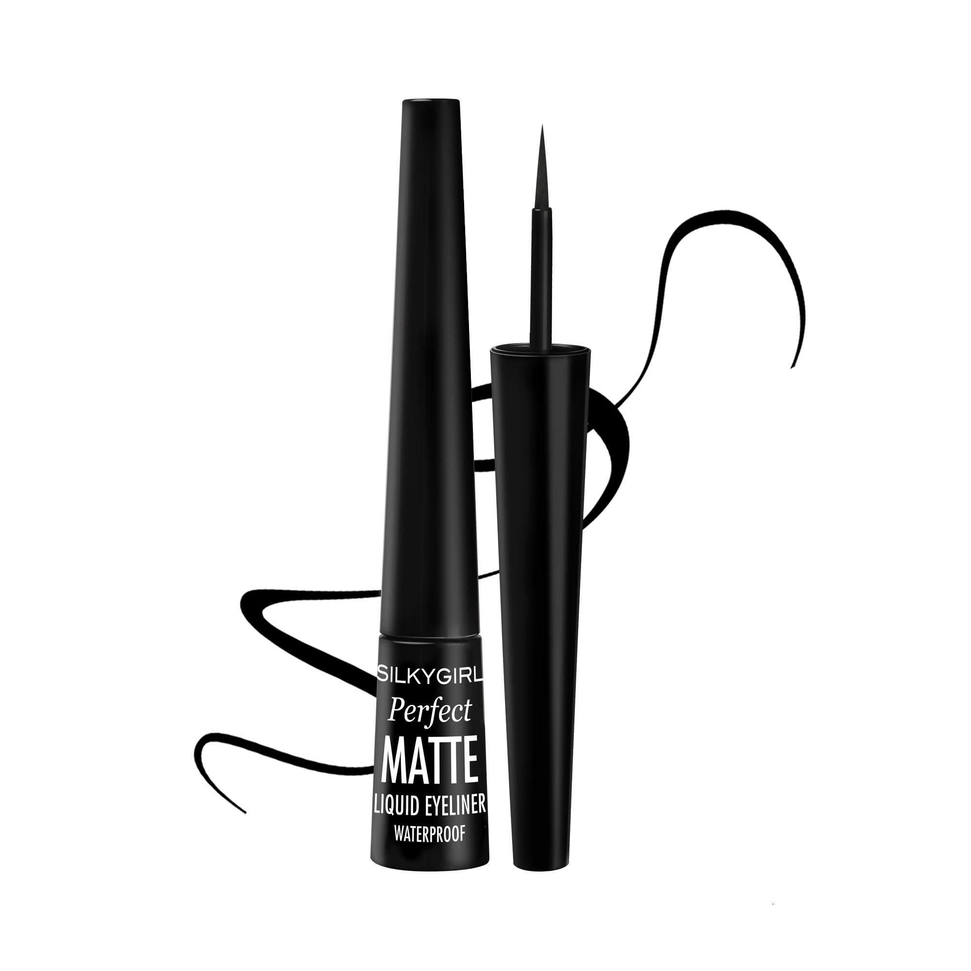 Eye Makeup Liners Kajal Buy Maybelline Hyper Ink Liquid Liner Silkygirl Perfect Matte Eyeliner Waterproof 25ml