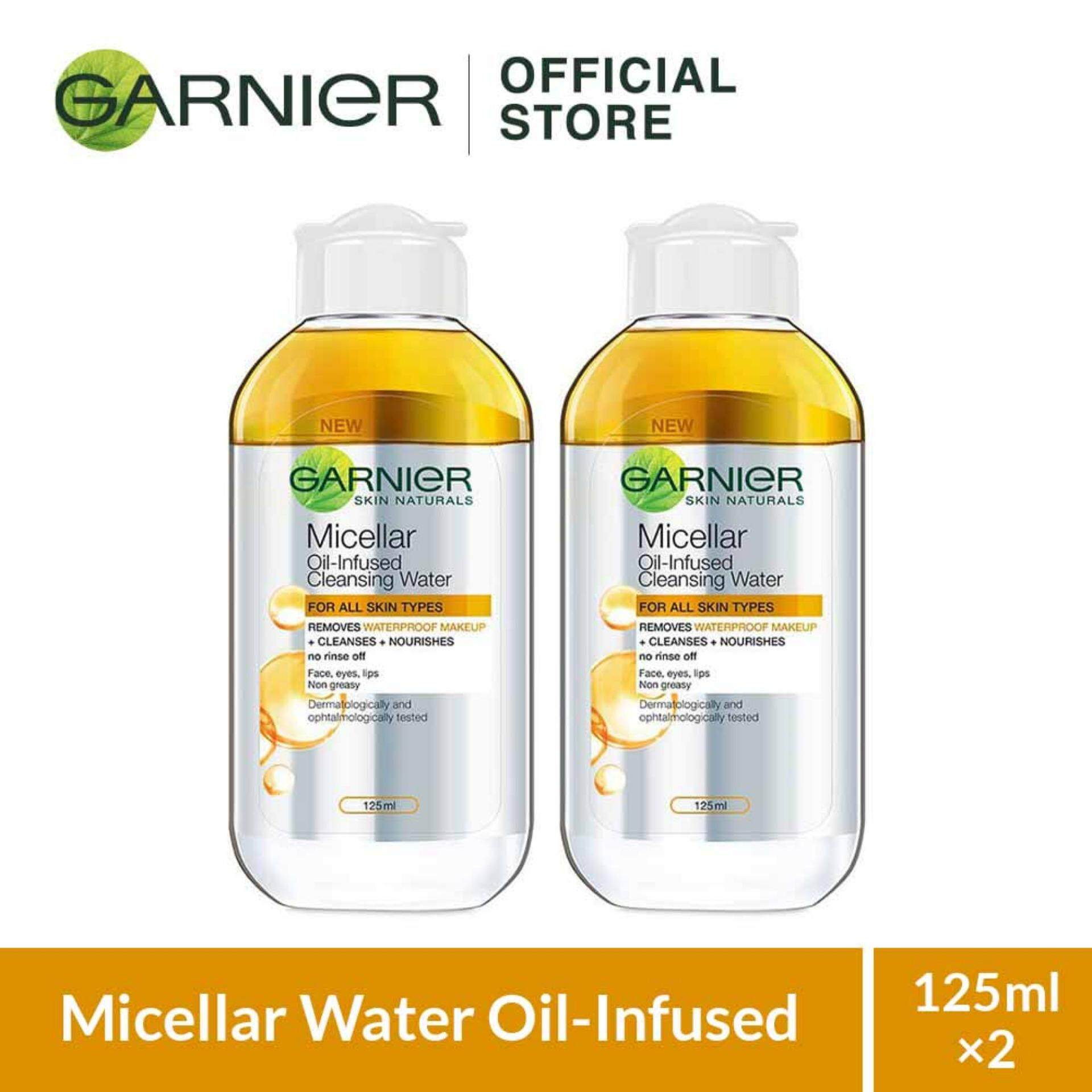 Garnier Micellar Cleansing Water 125ml Health Beauty Makeup Removers Price In Malaysia Best Oil Infused Bundle X 2