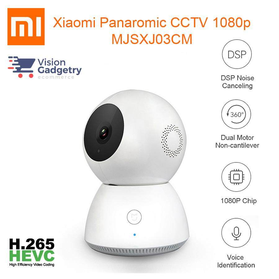 Xiaomi Security Cameras For The Best Prices In Malaysia Xiaofang Smart Wifi Cctv Ip Camera 1080p With Night Vision Mijia Home Cam 360 Mjsxj03cm