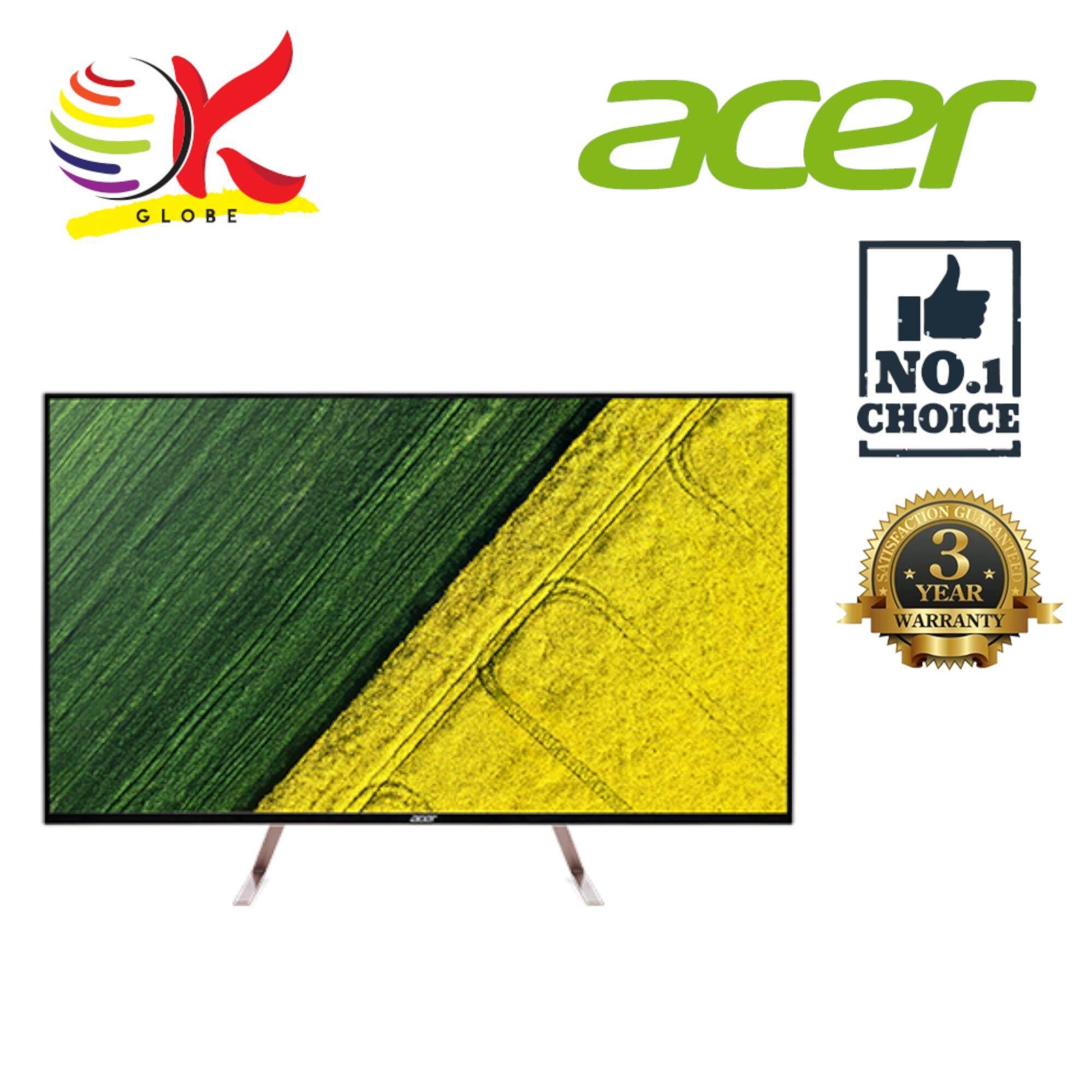 ACER LCD MONITOR LED FLAT IPS UHD 43 ET430K WMIIPP (UM.ME0SM.002) (5MS/HDMIx2/DP/MINI-DP/DP-OUT/VESA/SPK/HDR) BLACK Malaysia