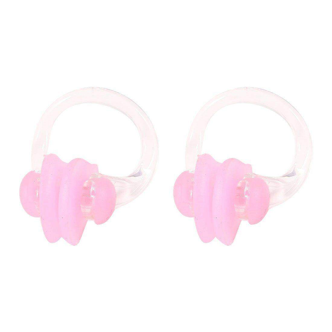 Protective silicone nose clip pink - 2 pieces