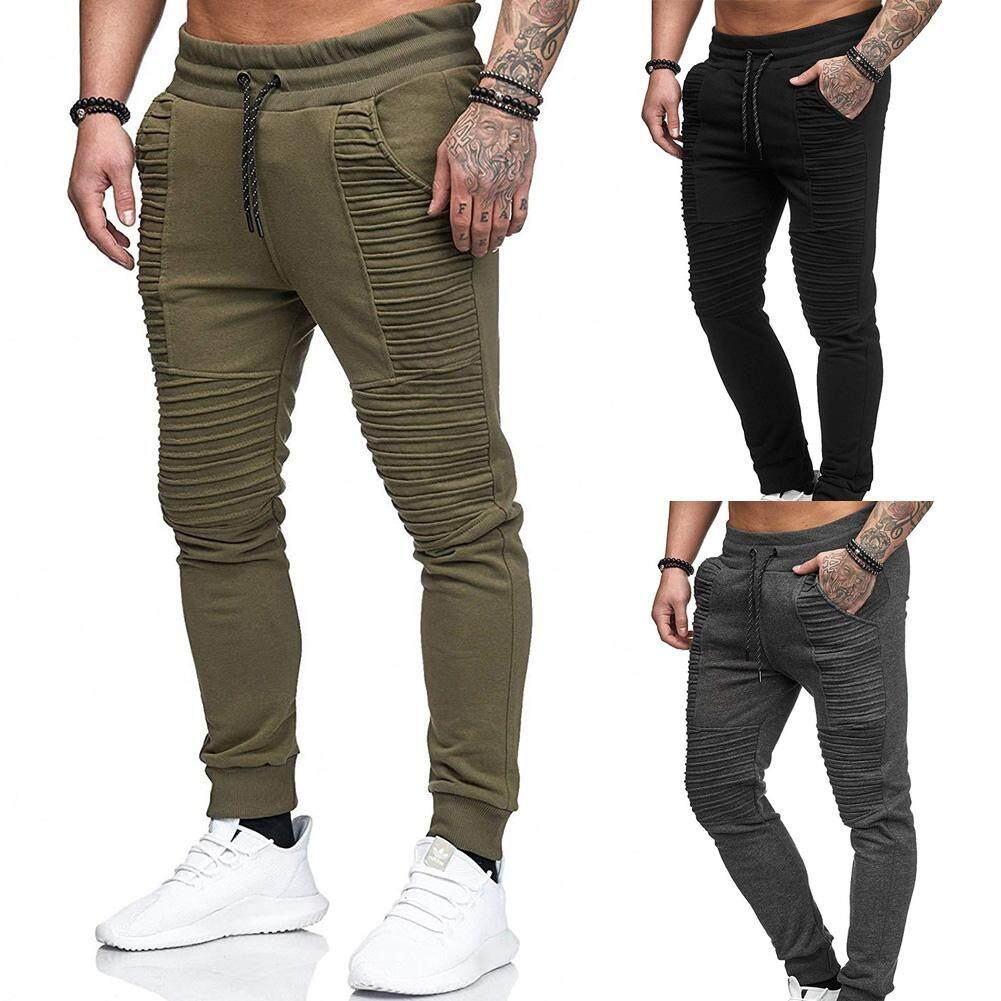 UA Men Simple Breathable Quick Dry Pants Fashion Hip-hop Style Casual Long  Pants 08c5a4047