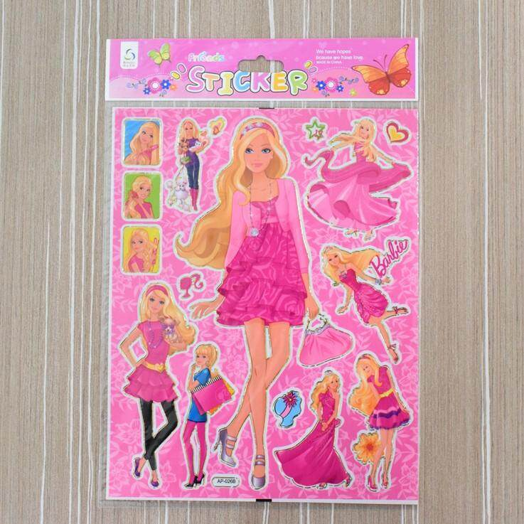 Barbie Stickers For Kids 10pcs/set By Ac Shopper.