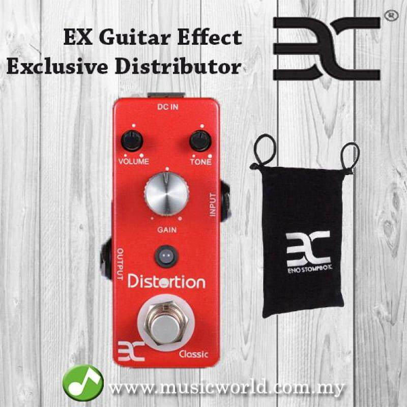 ENO EX TC-15 Mini Single Classic Distortion Electroc Guitar Effects Pedal With True Bypass (TC15 / TC 15) Malaysia