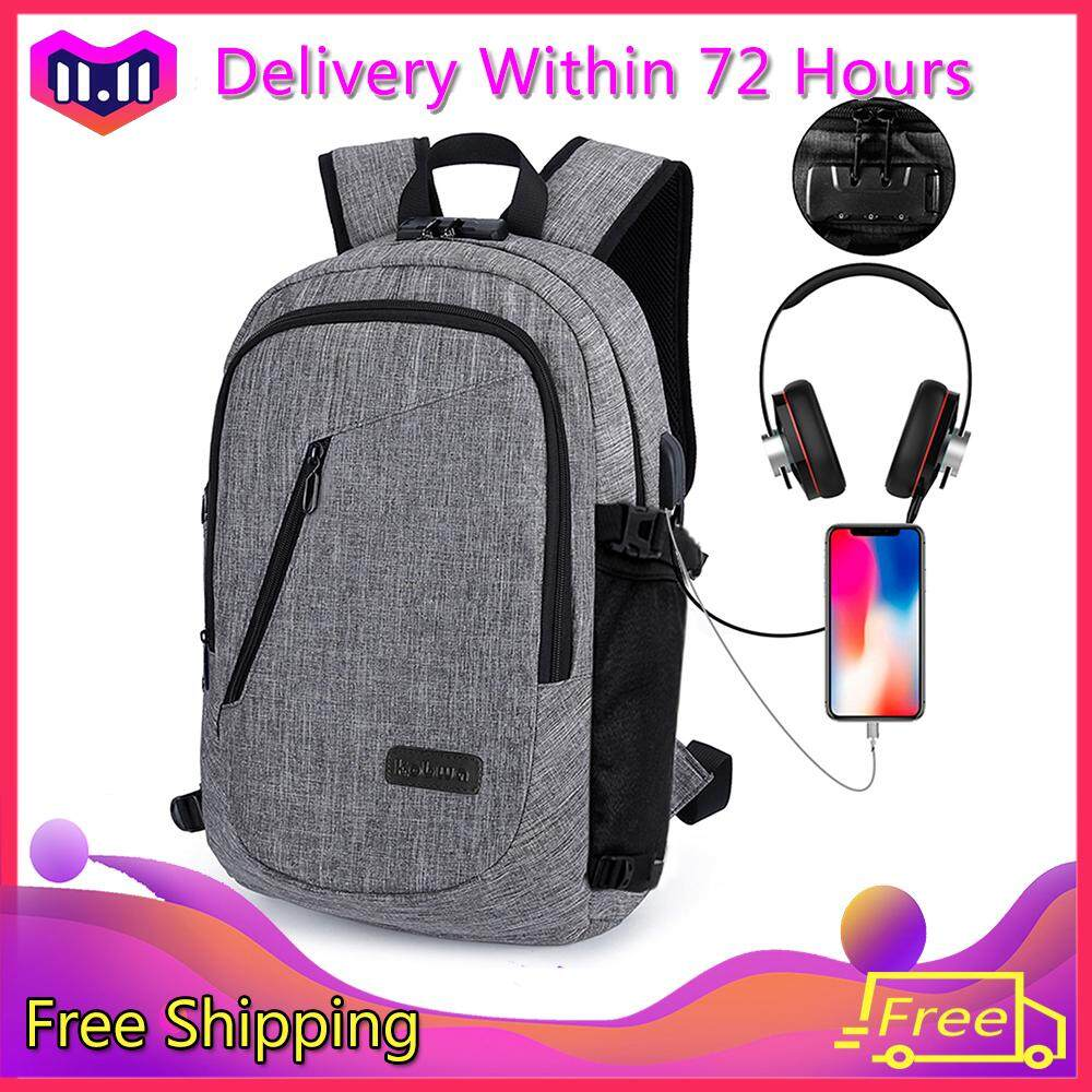 c38fea0e0fd3  Global Express Delivery+Free shipping niceEshop Business Water Resistant  Polyester Laptop Backpack With