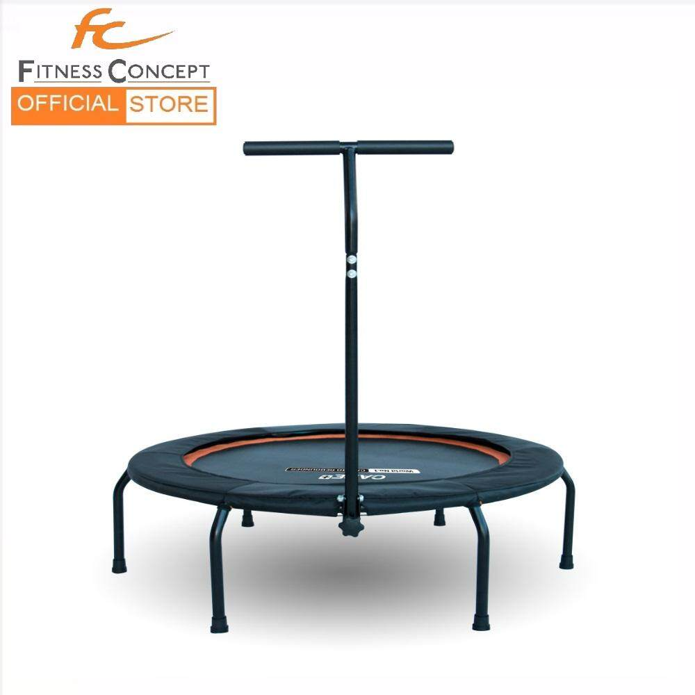 Trampoline Rebounder Bungee Cord Type With Stability T Bar By Fitness Concept.