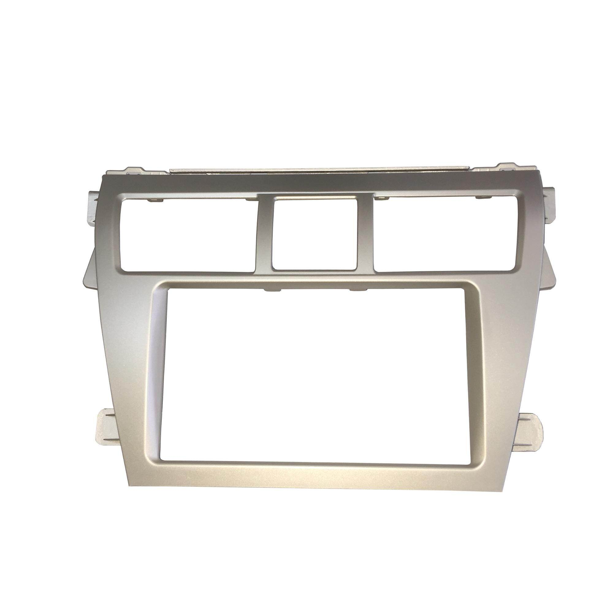 Toyota Vios 2007-2013 Double DIn Casing(Silver)