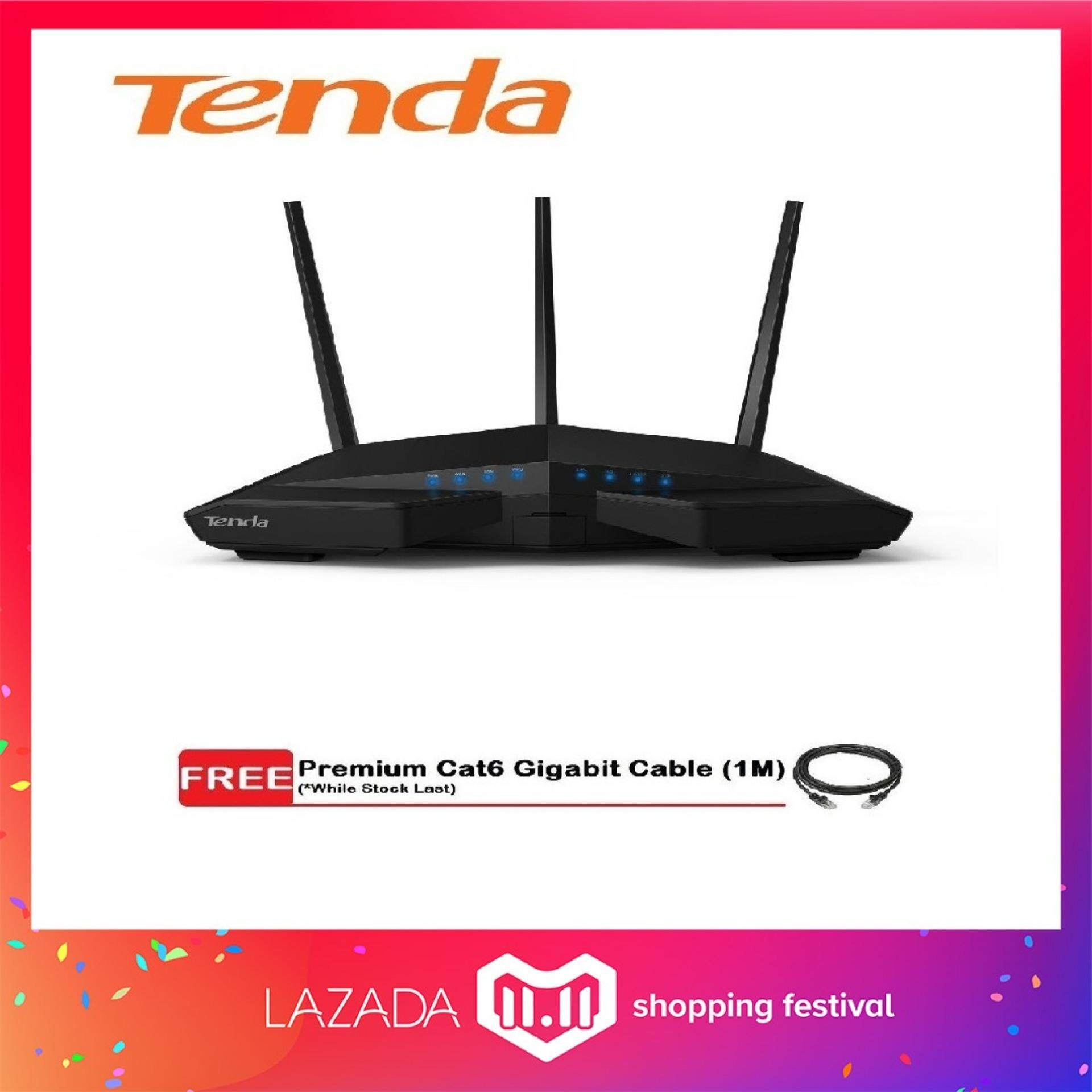 Tenda Routers Price In Malaysia Best Lazada N301 Wireless Router 3 1 Ac18 Ac1900 Smart Dual Band Gigabit Wifi Unifi Maxis Time Fiber