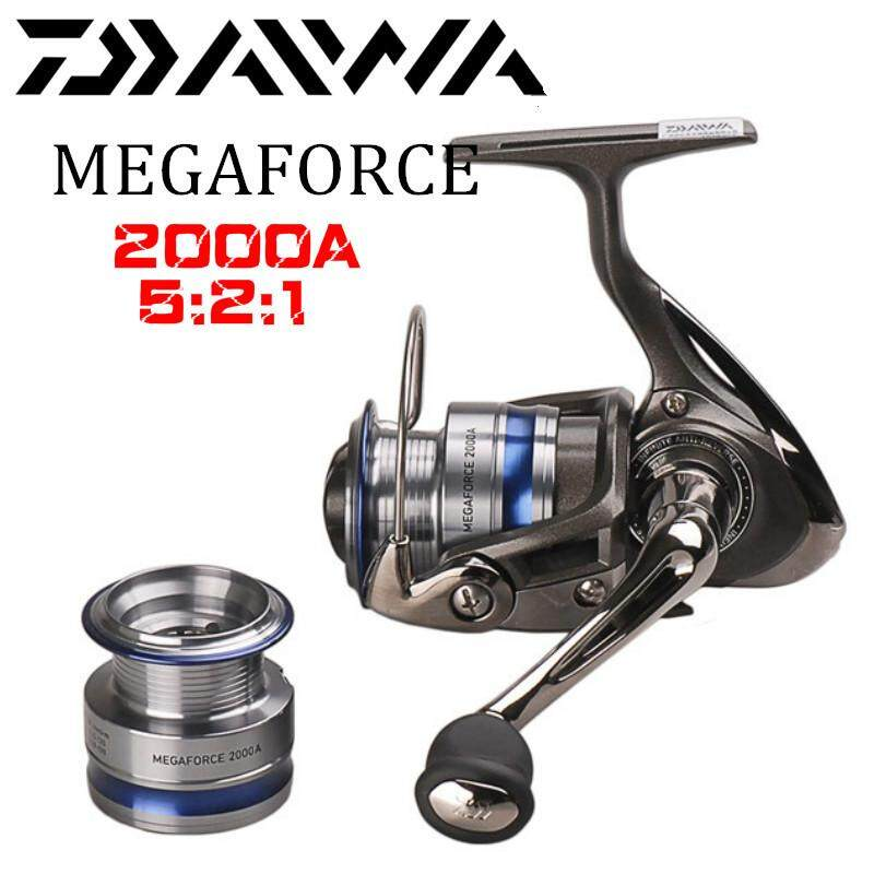 100% Original DAIWA MEGAFORCE Spinning Fishing Reel 2000A/2500A/3000A/4000A With