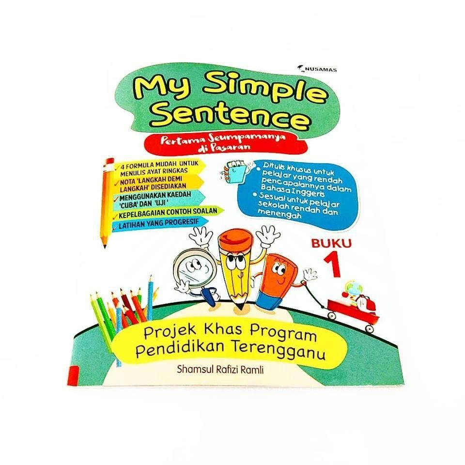 Buku Buy At Best Price In Malaysia 9 Langkah Mudah Menghafal Al Quran My Simple Sentence 1 Nusamas