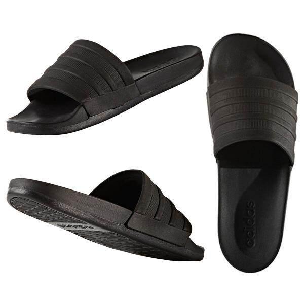 f7960531b85e Adidas Adilette CF Mono Black Men Sports Sandal Slippers Slides