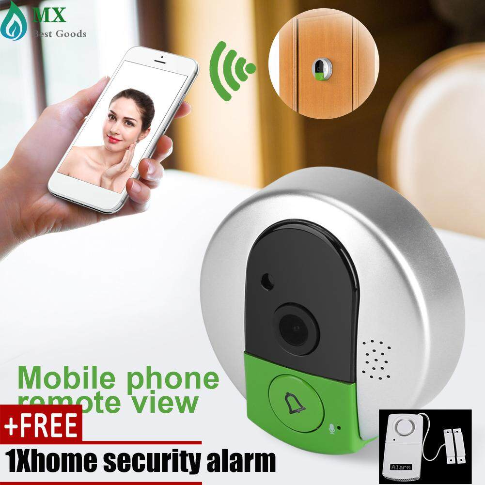 [buy 1 get 1 free gift] Smart WiFi 750P HD Wireless Visual Camera Doorbell Night Vision Intercom US Plug
