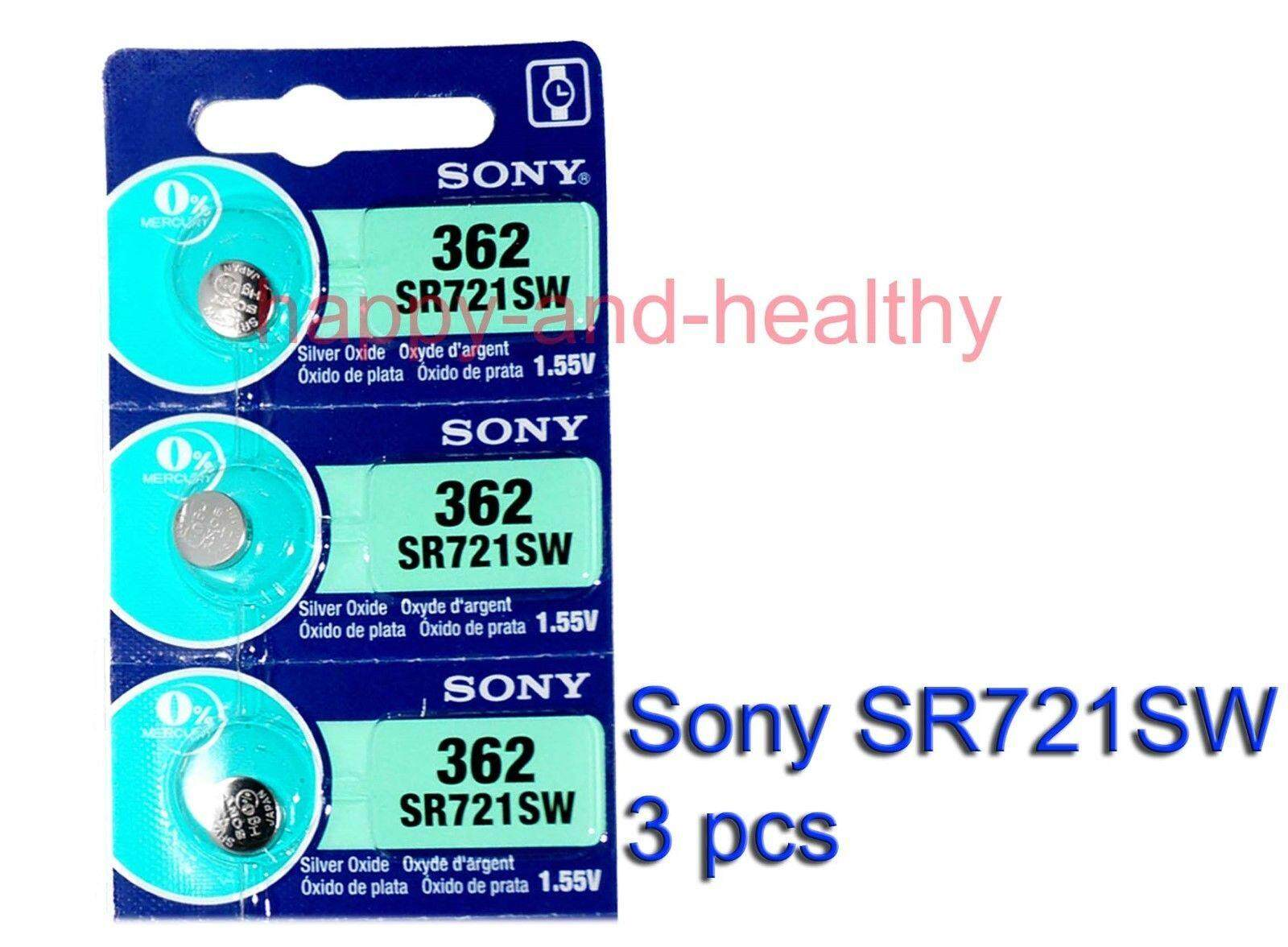 1 PCS Sony Coin Battery SR721SW (100% Original)