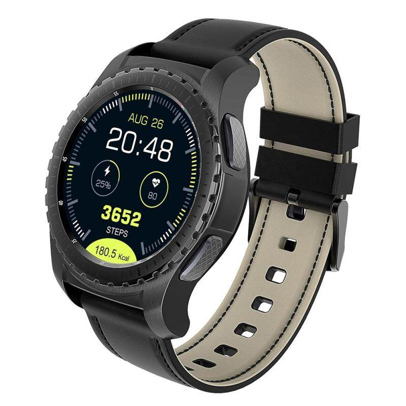 KingWear KW28 Smartwatch Phone 1.3 inch Sedentary Reminder Heart Rate Monitor Anti-lost Remote Camera Malaysia